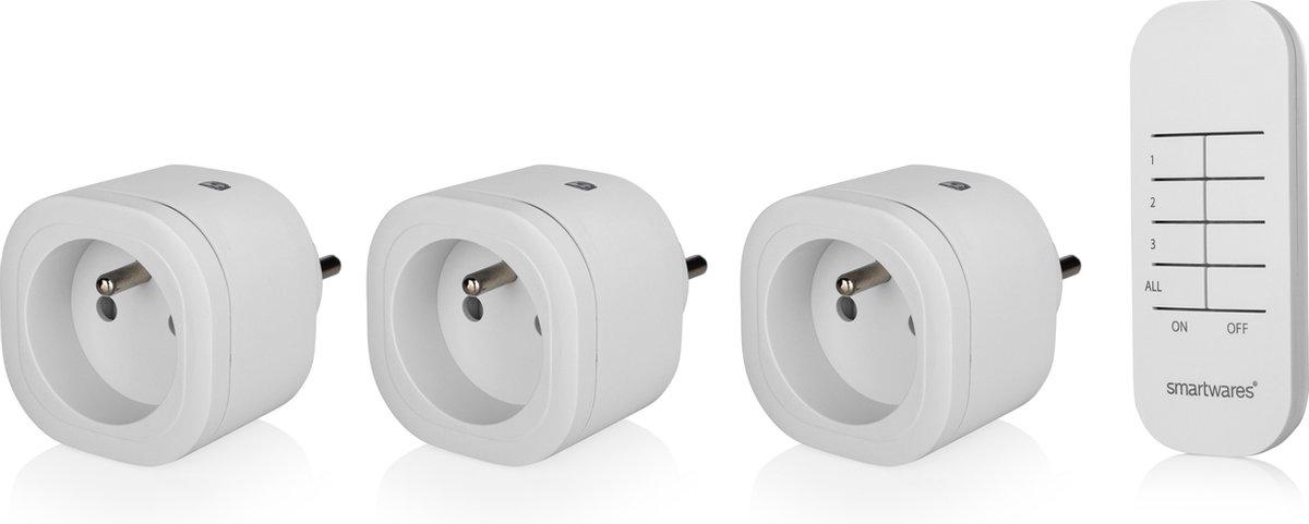 Smartwares Indoor mini switch set (FR plug) SH4-99566FR