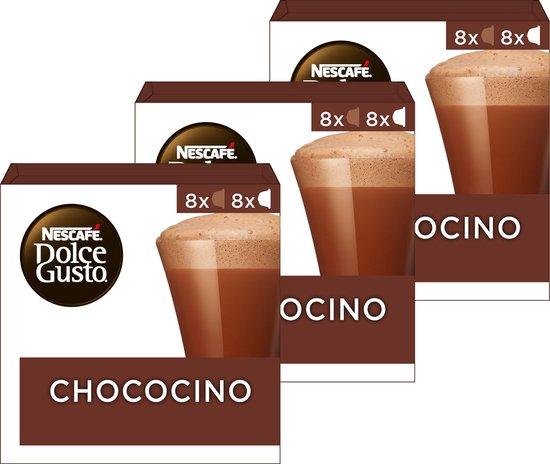 Nescafé Dolce Gusto capsules Chococino - chocolademelk - 48 cups - geschikt voor 24 koppen