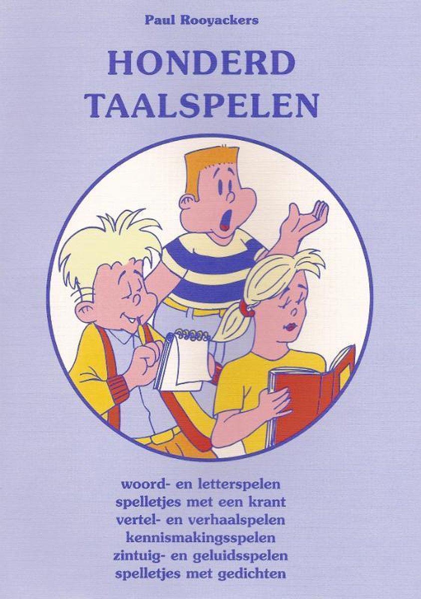 Educatieve spelenboeken 50 -   Honderd taalspelen - P. Rooyackers