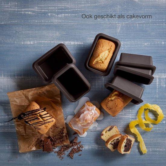 Lurch – Flexiform - Mini - broodvormen - Silicone - 6 stuks