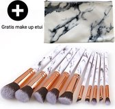 Luxe Make Up Kwasten Set - Make Up Brush - Oogschaduw – Beauty - Foundation Kwast - Poederkwast - Brush - Make up - Cosmetica - Kwasten Set – Make Up Etui