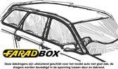Farad Dakdragers - Ford Ka+ vanaf 2016 - Glad dak - Staal