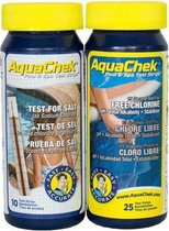 Aquacheck salt system test kit - 50 teststrips