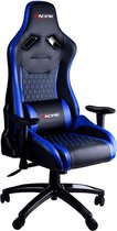 Bol.com-Bureaustoel / Gaming Chair (zwart/blauw)-aanbieding