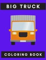 Big truck coloring book