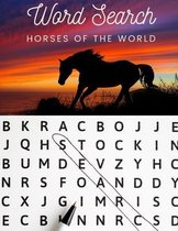 Word Search: Horses of the World