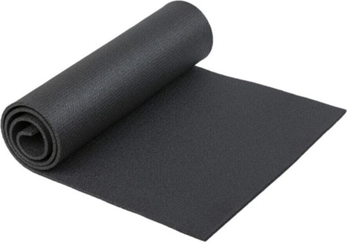 Yogamat - Fitness Mat - 6,5 mm - Zwart - Pilates Mat - Sport Mat