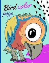 Bird color page