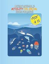 ocean animals activity books for kids