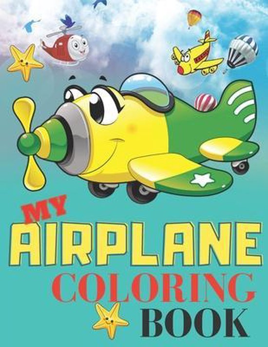 My Airplane Coloring Book