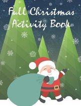 Full Christmas Activity Book
