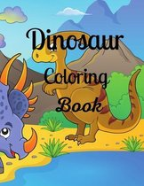 Dinosaur Coloring Book: Dinosaur Book for Kids