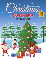 Christmas Coloring Book for Toddlers & Kids for Ages 2-5