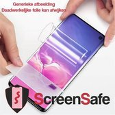 ScreenSafe High Definition Hydrogel screenprotector Oppo Find X2 Lite Case Friendly High Impact (AAAA)