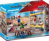 PLAYMOBIL City Action Stelling met werklieden - 70446