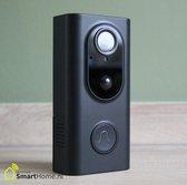 Smart Home slimme videodeurbel L16 - Wifi - Zwart - HD camera