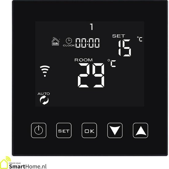 Smart Home slimme thermostaat - zoneverwarming - Wifi