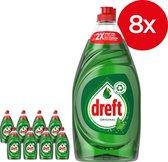 Dreft Original Vloeibaar Afwasmiddel Met LiftAction - Voordeelverpakking 8 x 890ml