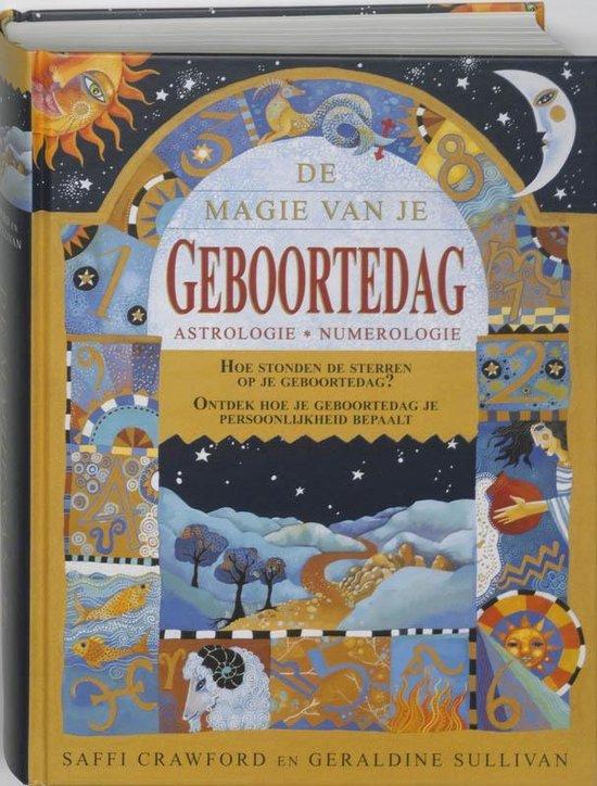 Boek cover De magie van je geboortedag van Saffi Crawford (Hardcover)