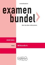 Examenbundel vwo Wiskunde A 2020/2021