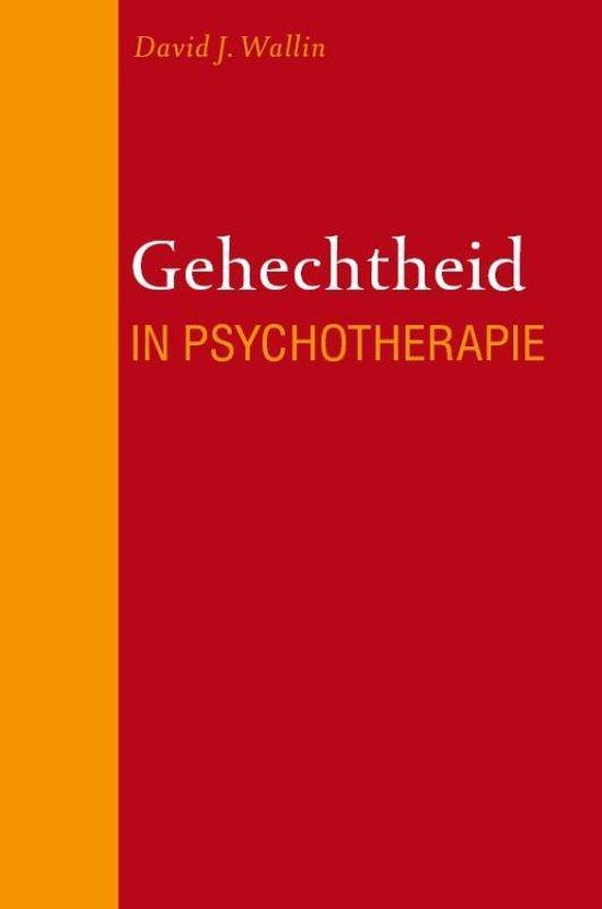 Gehechtheid in psychotherapie