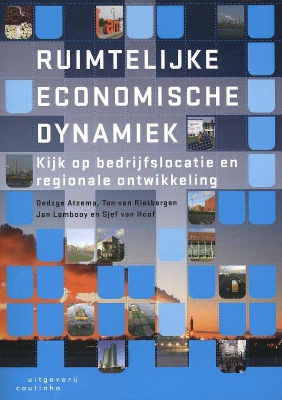 Boek cover Ruimtelijke economische dynamiek van Oedzge Atzema (Paperback)