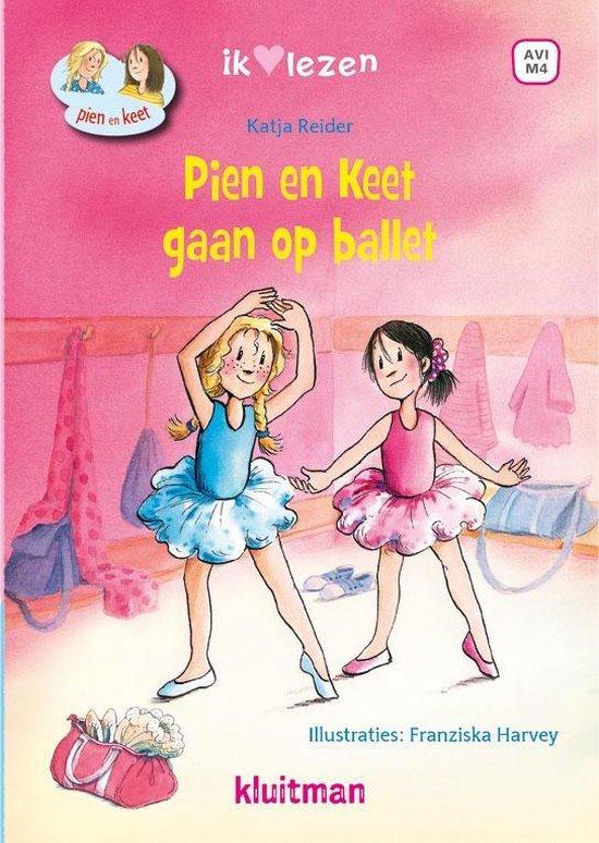 Boek cover Ik ♥ lezen  -   Pien en Keet gaan op ballet van Katja Reider (Hardcover)