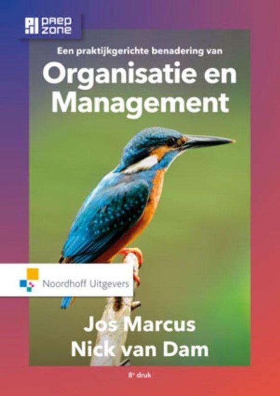 Boek cover Een praktijkgerichte benadering van organisatie en management van N. van Dam (Hardcover)