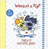 Boek cover Woezel & Pip 3 -   Babys eerste jaar van Guusje Nederhorst