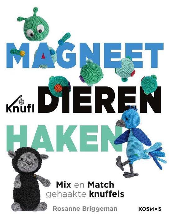 Afbeelding van Kosmos Boek - Magneetdieren haken Briggeman (02-21) speelgoed
