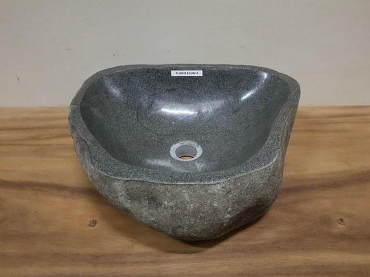 Waskom natuursteen FL20412 - 43x38x15cm