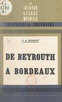 De Beyrouth à Bordeaux