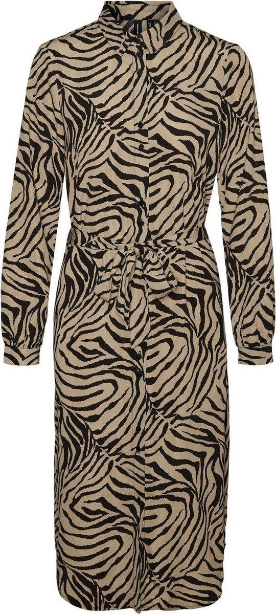 Vmlisa graffic ls shirt dress Laurel oak/lisa.