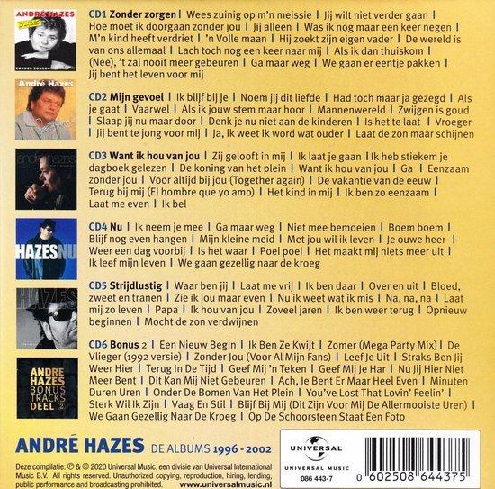 De Albums 1996-2002