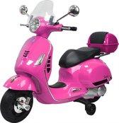 Vespa Elektrische kinder scooter vanaf 2 - 4 jaar - Roze