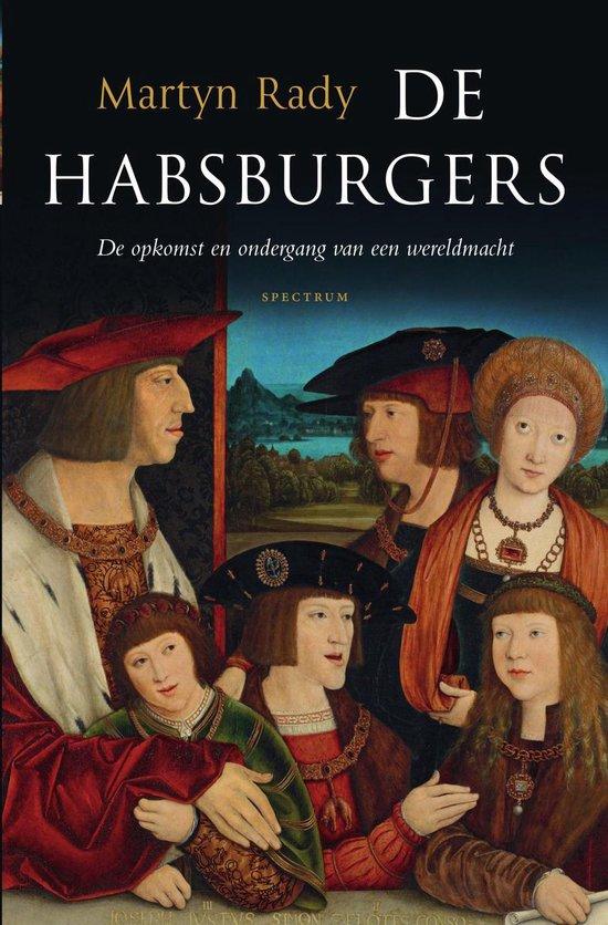 Boek cover De habsburgers van Martyn Rady (Onbekend)