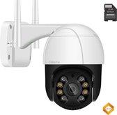 IP Camera Beveiliging WiFi 4x Digitale Zoom Incl. 32 GB SD Kaart AUTOTRACKING