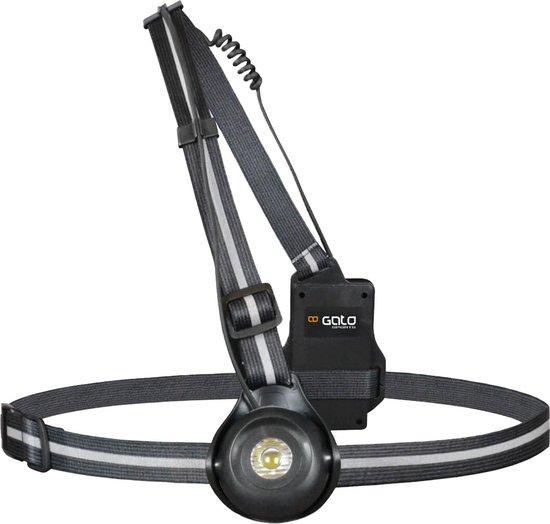 Gato Reflectievest - Maat One size - Unisex - zwart/zilver