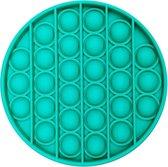 Fidget Toy Pop It - Fidget Toys speelgoed - Anti-stress - Rond - Turquoise