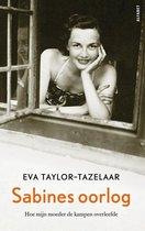 Boek cover Sabines oorlog van Eva Taylor-Tazelaar (Paperback)