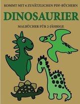 Malbucher fur 2-Jahrige (Dinosaurier)