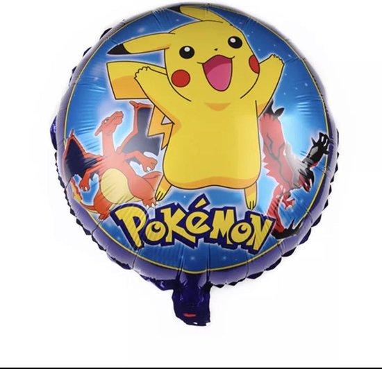 Pokemon folie ballon, helium, versiering, verjaardag Pikachu