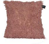 Kussenhoes Feather   45x45 cm   Polyester   Bont   Punch Pink   Maison Boho Kids
