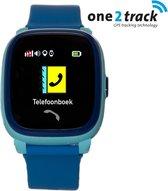 One2track Connect Play - GPS tracker telefoonhorloge voor kinderen - Blauw