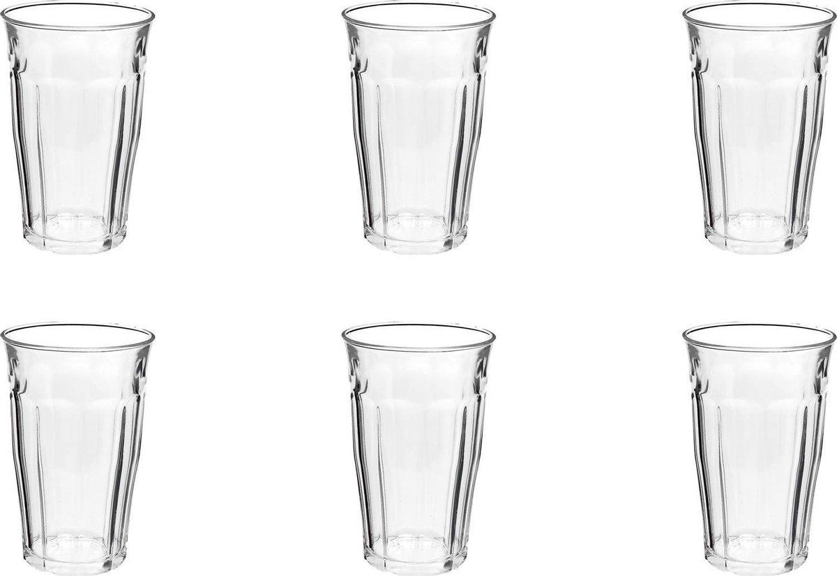 Duralex Picardie Longdrinkglas 360 ml - Gehard glas - 6 stuks