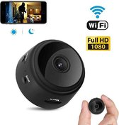 Camera | mini camera | beveiligingscamera | verborgen camera | wifi spy camera | 1080P incl. SD kaart (32GB)