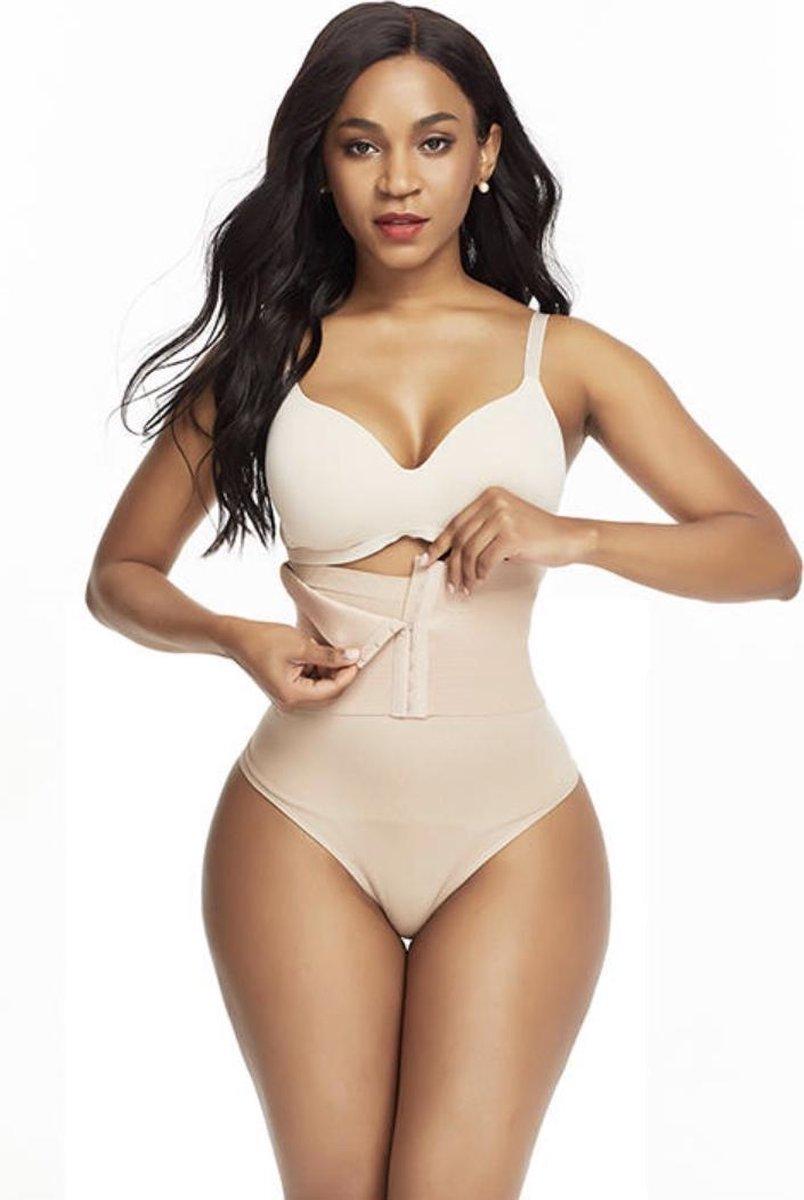 Slim Wear - Corrigerend ondergoed met waist trainer - Shapewear - Corset - String - Ondergoed voor b