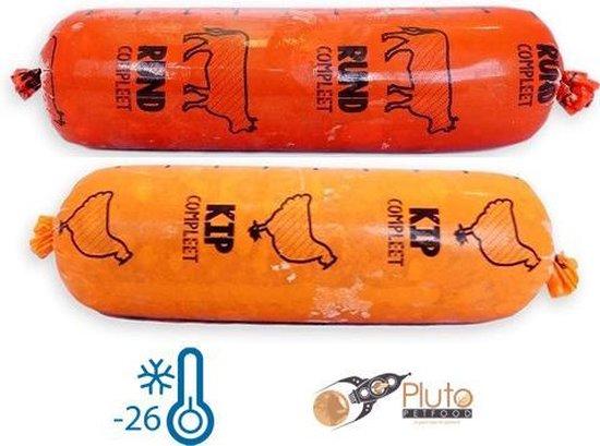 Kip & Rund MIX 10x0,5kg - KVV vers vlees - Diepvries Hondenvoeding - Pluto Petfood