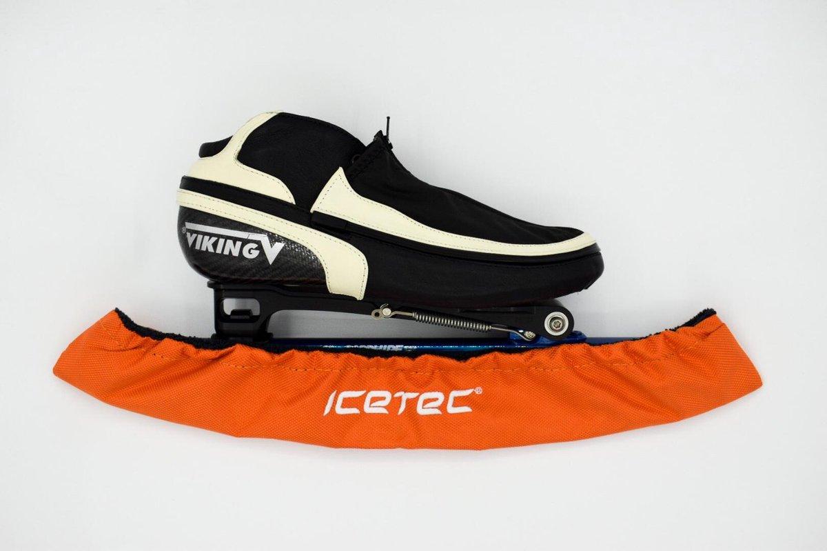 Icetec | Schaatshoezen - Oranje - Schaatsmaat 34-40