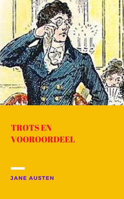 Boek cover Trots en vooroordeel van Jane Austen (Onbekend)
